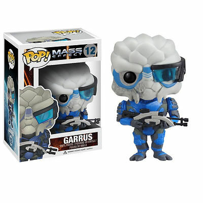 new Collectibles Toys Funko Pop Games Mass Effect Garrus Vinyl Figure