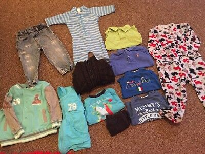 Baby Boys Bundle 12-24 Months. (12-18 & 18-24 Months) Ralph Lauren Next. Job Lot