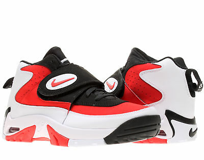 Nike Air Mission White/Fire Red-Black Men's Cross Training Shoes 629467-101