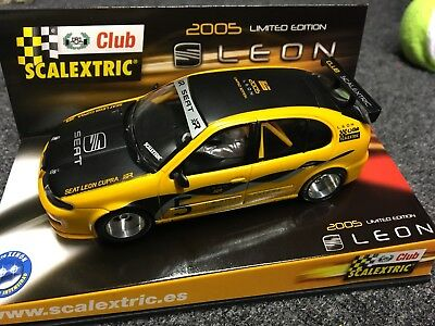 scalextric seat leon 2005 Limited Edition 1/32