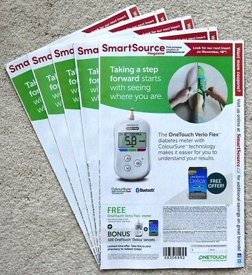 5 x Smart Source Coupon Inserts Canada October 2017