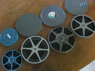 Lot of 4 8mm Home Movie Films