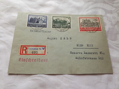Stamps Cover Germany Reich Postal History Nice Lot Ba/0041