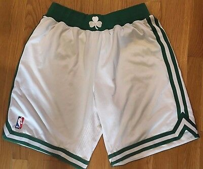 Jason Terry 2012-13 Boston Celtics White Home Game Worn Shorts NBA