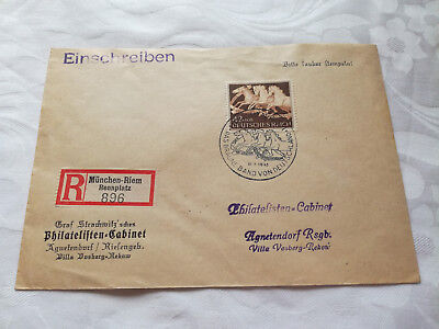 Stamps Cover Germany Reich Postal History Nice Lot Ba/0053