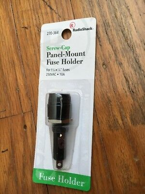 RadioShack Screw-Cap Panel-Mount Fuse Holder 270-364  -3