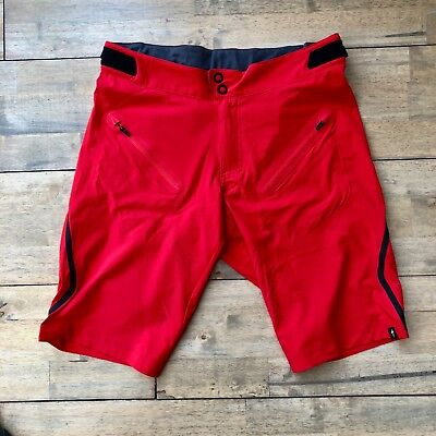 Specialized Atlas XC Pro Shorts - 32 / Red (without liner shorts)
