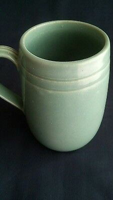 "Vintage Buchan Portobello, Scotland Stoneware mug - 5"" Tall - Green- Lovely"