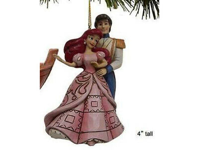 Disney Traditions-Eric And Ariel Tree Hanging Decoration-Brand New Boxed-A28962
