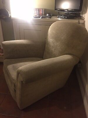 TWO Victorian Round-back Armchairs