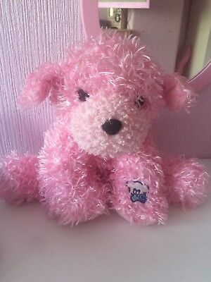 Pink Glo-E  Light Up Friend Pink Dog 10 Inches Tall