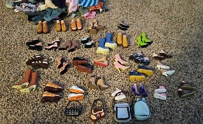 Bratz doll clothes, accessories and shoes lot