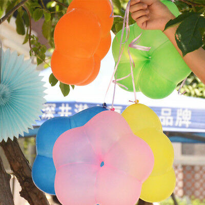 10 PCs Plum Flower Shape Latex Balloons Plum Flora Wedding Birthday Party Decor