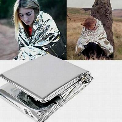Charm Foil Waterproof Emergency Survival Thermal First Aid Rescue Blanket