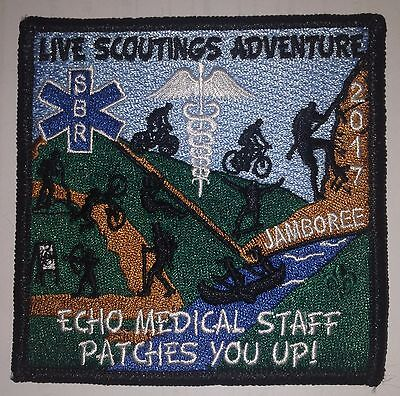 ECHO Medical Staff Patch 2017 National Boy Scout Jamboree - MINT