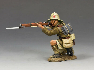 King and Country ME002 Kneeling Firing Rifle RETIRED
