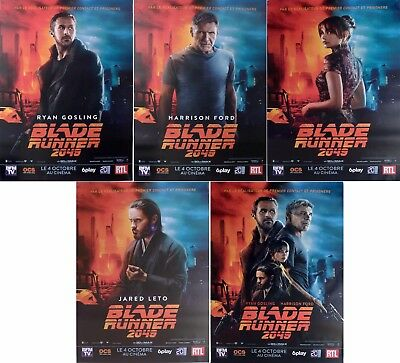 Blade Runner 2049 Extremely Rare Original Character Movie Posters Bus Shelter