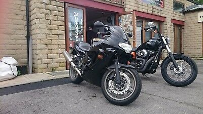 Triumph TT 600 for spares or repair