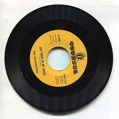 Northern Soul - The Magnificents - Just Walk In My Shoes / Just Walk In My Shoes