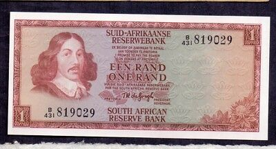 1 Rand From South Africa Unc
