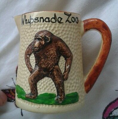 Whipsnade Zoo manor ware jug with chimp