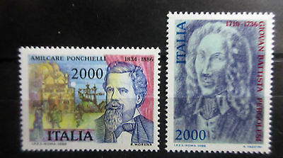 Italy 1986 Composers Set. MNH.