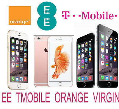 Unlock Code Service For Iphone 6S 6S Plus 6 Plus 6 5S 5 4S Uk Ee Tmobile Orange