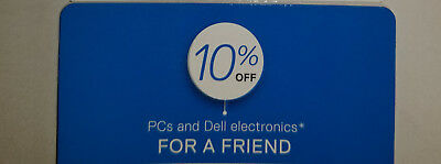 Dell 10% Off Coupon: Dell Computers And Electronics. Exp 11/9/17