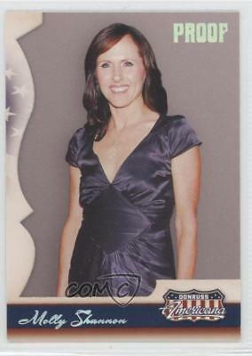 2007 Donruss Americana Retail Silver Proof #50 Molly Shannon /250 Card 0a7