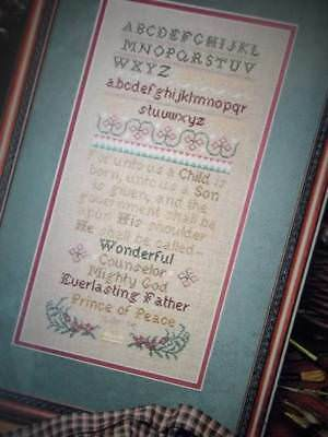 Magnificent Story Sampler Counted Cross Stitch Pattern From A Book XSP1