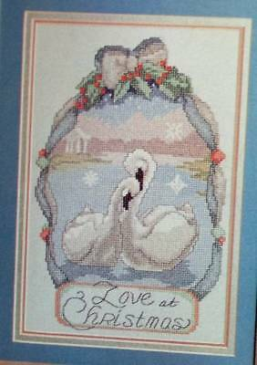 Love At Christmas Counted Cross Stitch Pattern From A Magazine XB18