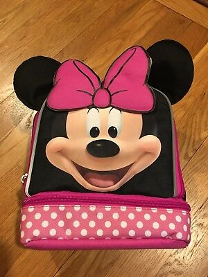 Disney Junior Minnie Mouse Lunch Bag Brand New With Tags