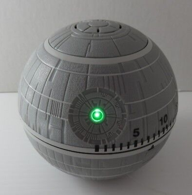 Star Wars Deathstar Timer With Light And Sounds            (Inv14858)