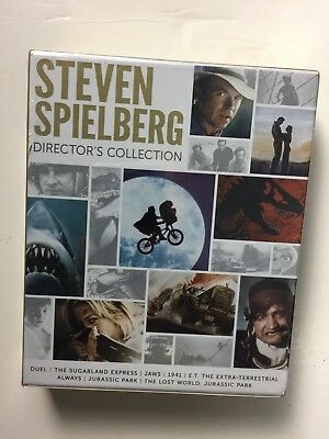 Steven Spielberg: Directors Collection (Blu-ray Disc, 2014, 8-Disc Set) NEW