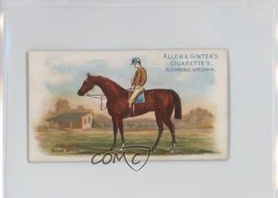 1888 Allen & Ginter The World's Racers Tobacco N32 #BLWI Blue Wing Card 1s8