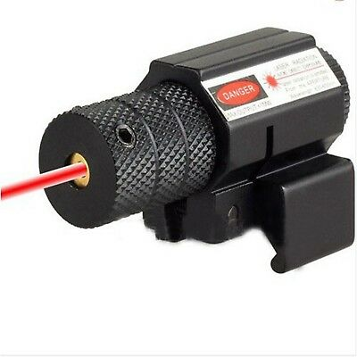 Tactical Compact Red Scope Sight For Rifle Gun Pistol For Glock Picatinny Rail