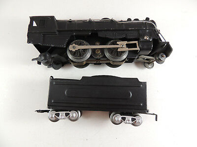 Marx O27 Repainted #999 Steam Locomotive And Tender