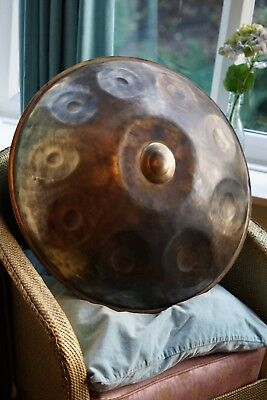 Handpan / Pantam Kurd 9 Ortal Pelleg top shelf and nearly new, great scale