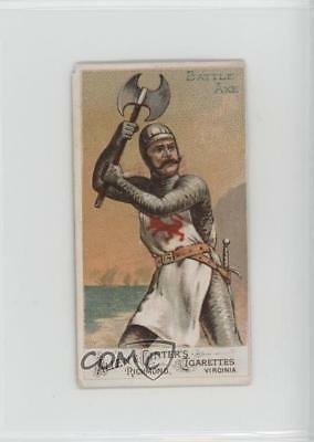 1887 Allen & Ginter Arms of all Nations Tobacco N3 #BAAX Battle Axe Card 1s8
