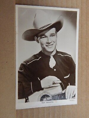 Postcard Picturegoer 1389 Roy Rogers   Real photo unposted