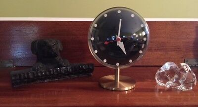 GEORGE NELSON Night Table Clock Vitra Design Museum Mid-Century Modern Superb