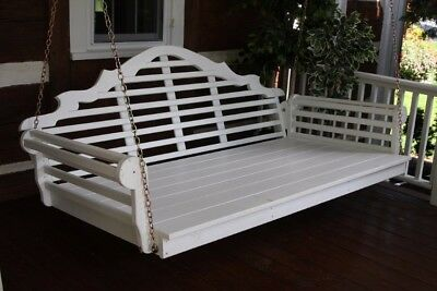 A&L Furniture Co. Amish-Made Pine Marlboro Swing Beds - In 4 Sizes, 18 Colors