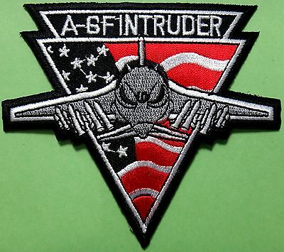 Embroidered badge A-6F INTRUDER, airplane, pilot