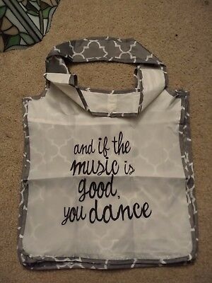 and if the music is good you Dance Reusable Shopping Tote Hand Bag
