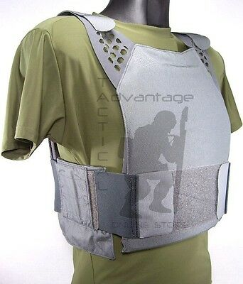 Eagle Industries (ULV) Ultra Low Vis Hard Armor Plate Carrier X-LARGE - grey