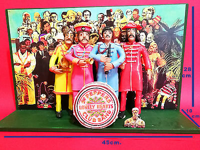 Statuetta - Action Figures The Beatles - Sgt. Pepper's Lonely Hearts Club Band