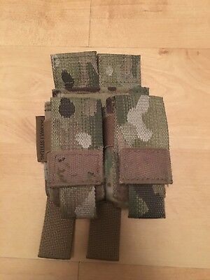 Warrior Assault Systems 9mm double Multicam pouch