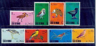 oman / rare birds-perf /mnh.good condition