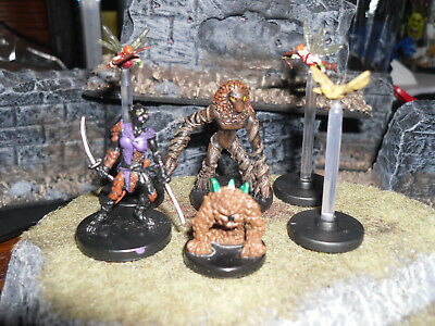 Dungeons and Dragons Miniatures LOT OF WOODLAND CREATURES (Nice Set & Unplayed!)