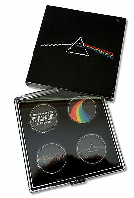 Roger Waters - Dark Side Of The Moon 4-Pc Magnet Set New Nib Official Pink Floyd